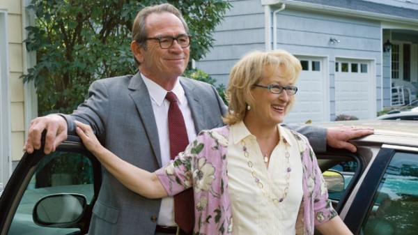 Tommy Lee Jones e Mery Streep in una scena di Great Hope Springs
