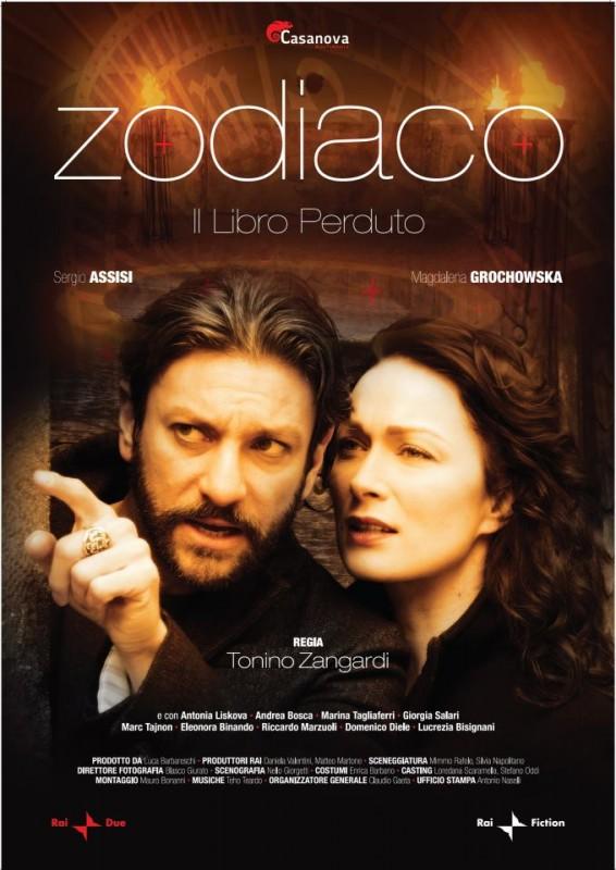 Zodiaco - Il libro perduto: la locandina della serie tv
