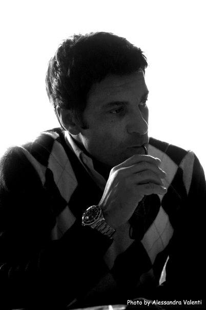 Gaetano Antinoro durante le riprese del corto Anime Brutali regia di Cristian Riolo