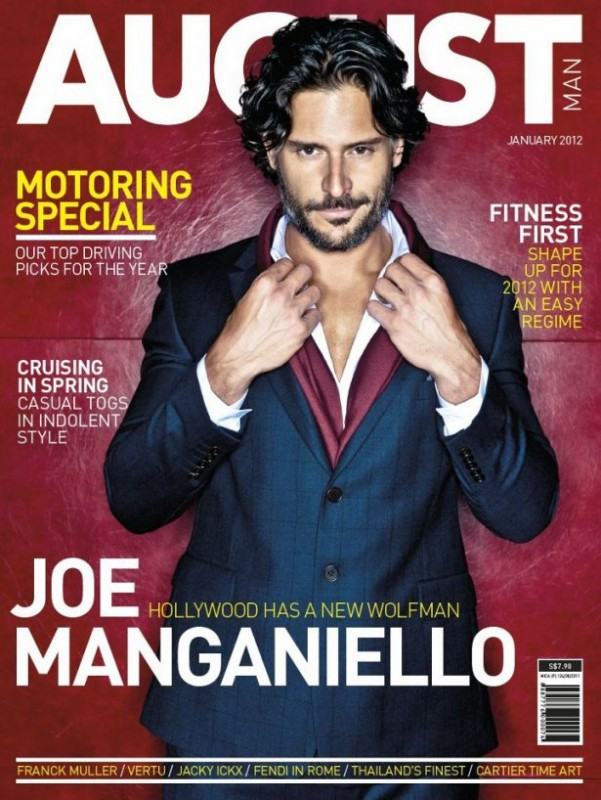 Joe Manganiello in cover su August