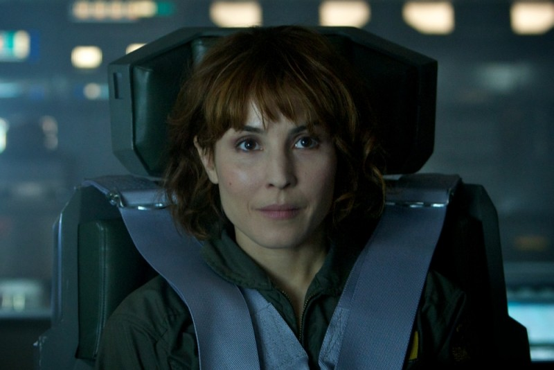 Noomi Rapace è Elizabeth Shaw in un'immagine di Prometheus
