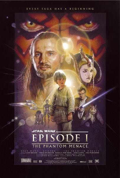 Star Wars ep. I - La minaccia fantasma: poster USA