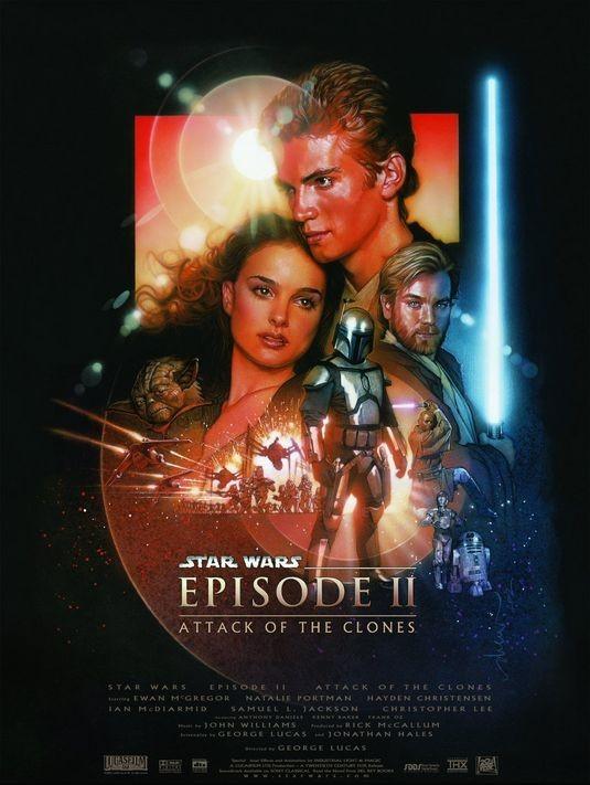 Star Wars ep. II - L'attacco dei cloni: poster USA