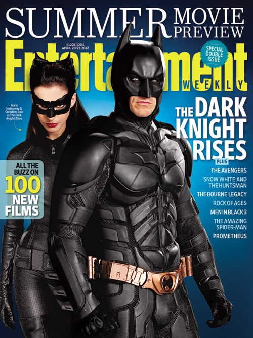 Copertina di Entertainment Weekly dedicata a Batman e Catwoman