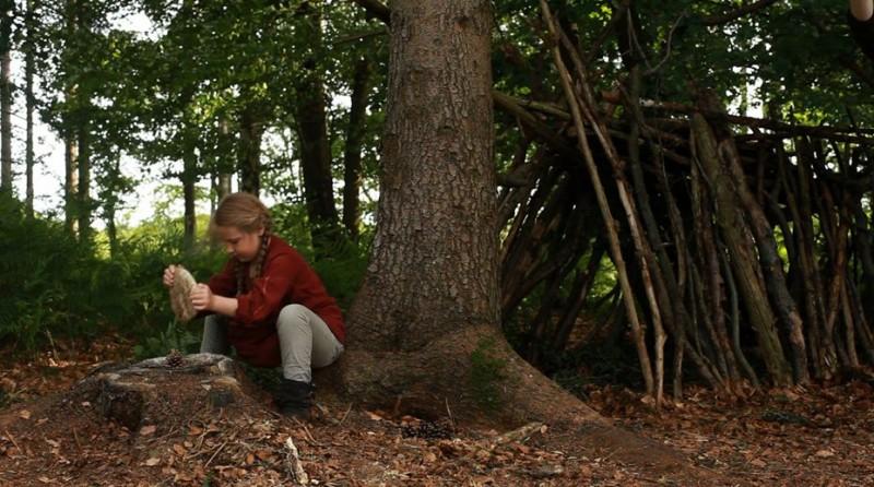 Wynona Ringer in una scena di A Pas de Loup
