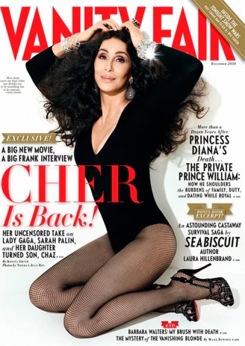 Cher in copertina su Vanity Fair