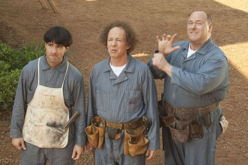 I tre marmittoni del 2012: Sean Hayes, Will Sasso e Chris Diamantopoulos