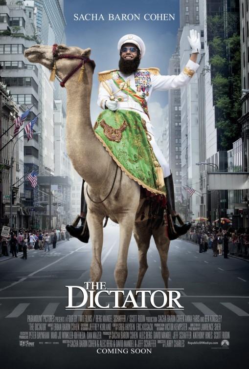 Il Dittatore: nuovo poster USA