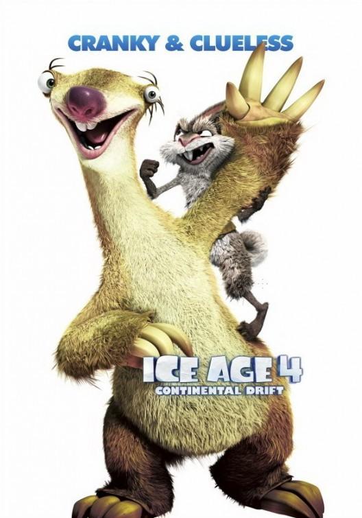L'era glaciale 4: Character poster 1