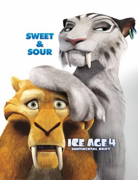 L'era glaciale 4: Character poster 2