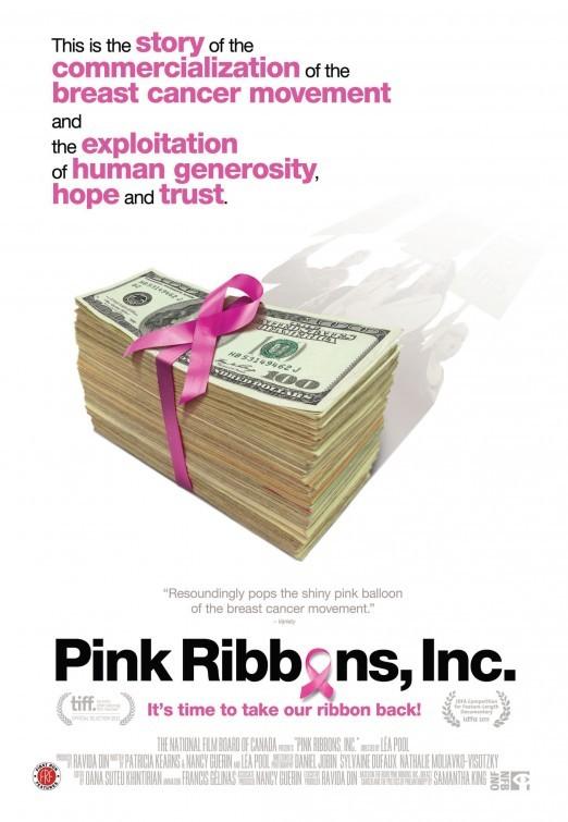 Pink Ribbons, Inc.: la locandina del film