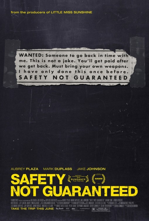 Safety Not Guaranteed: nuovo poster