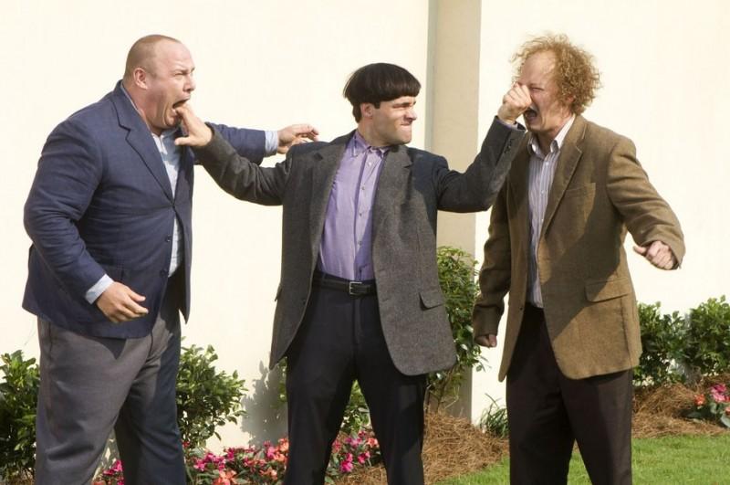 Sean Hayes, Will Sasso e Chris Diamantopoulos, protagonisti de I tre marmittoni