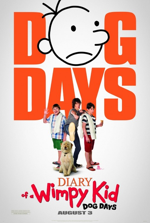 Diary of a Wimpy Kid: Dog Days: ecco la locandina