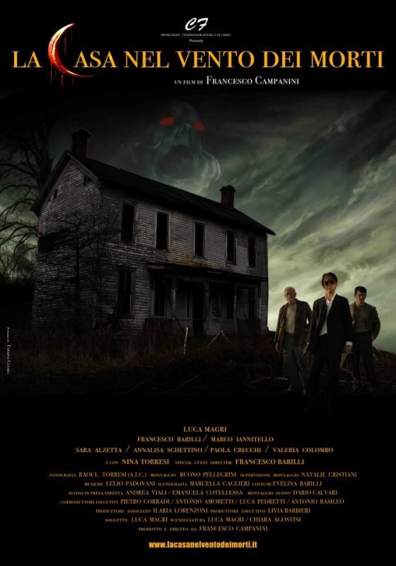 La casa nel vento dei morti: la locandina del film