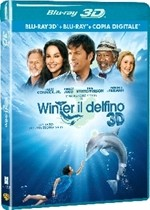 La copertina di L'incredibile storia di Winter il delfino 3D (blu-ray)