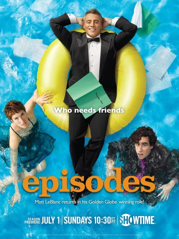Episodes: un poster della stagione 2 della serie Showtime