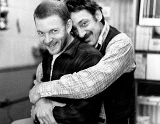 Harvey Milk in una tenera immagine con Scott Smith