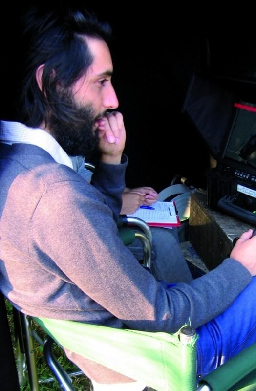 I giorni della vendemmia: il regista Marco Righi sul set del film