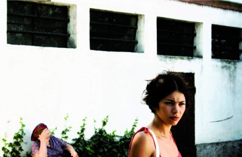 I giorni della vendemmia: Lavinia Longhi in una scena del film