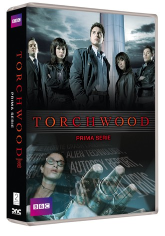 La copertina di Torchwood - Serie 1 (dvd)