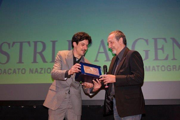 Alex Pascoli e Enzo De Camillis ai Nastri D'Argento