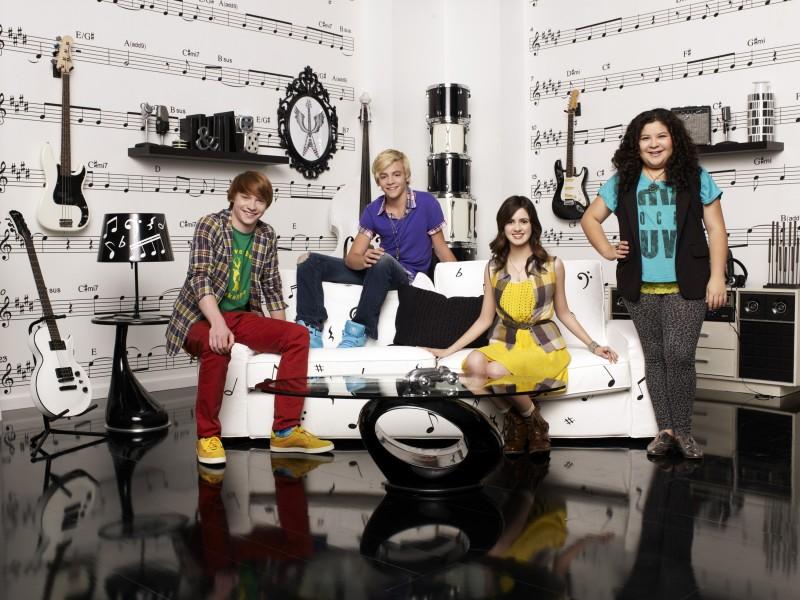 Austin & Ally: il cast in una foto promozionale