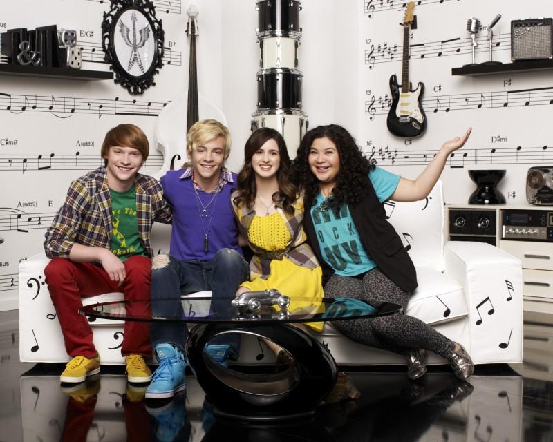 Austin & Ally: il cast in una foto promozionale della serie