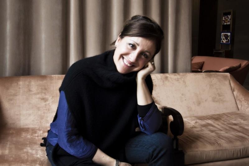 Carla Signoris alla Conferenza Stampa Nastri D'argento - Cortina D'ampezzo, 2012