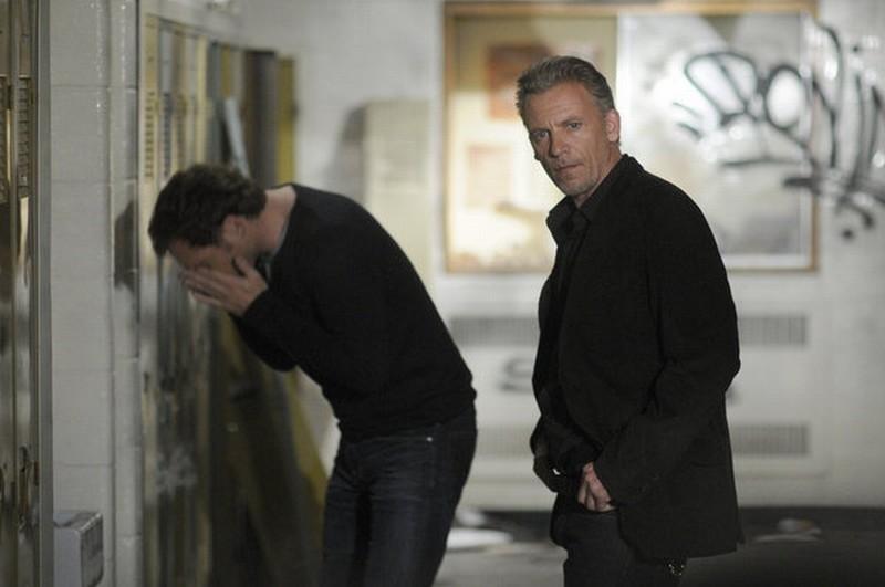 Il socio - Callum Keith Rennie e Josh Lucas sono i fratelli McDeere in una scena della serie