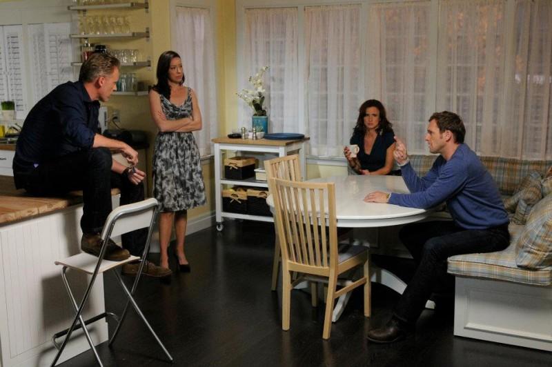 The Firm: il cast principale della serie in una scena