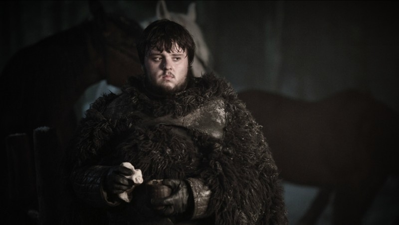 Game of Thrones: John Bradley nell'episodio What Is Dead May Never Die