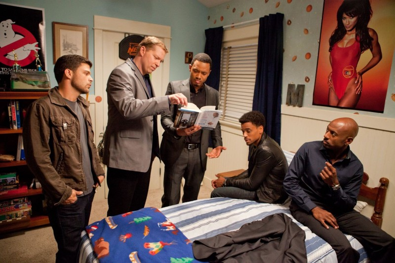 Jerry Ferrara, Gary Owen, Terrence J, Michael Ealy e Romany Malco in Think Like a Man della Screen Gems