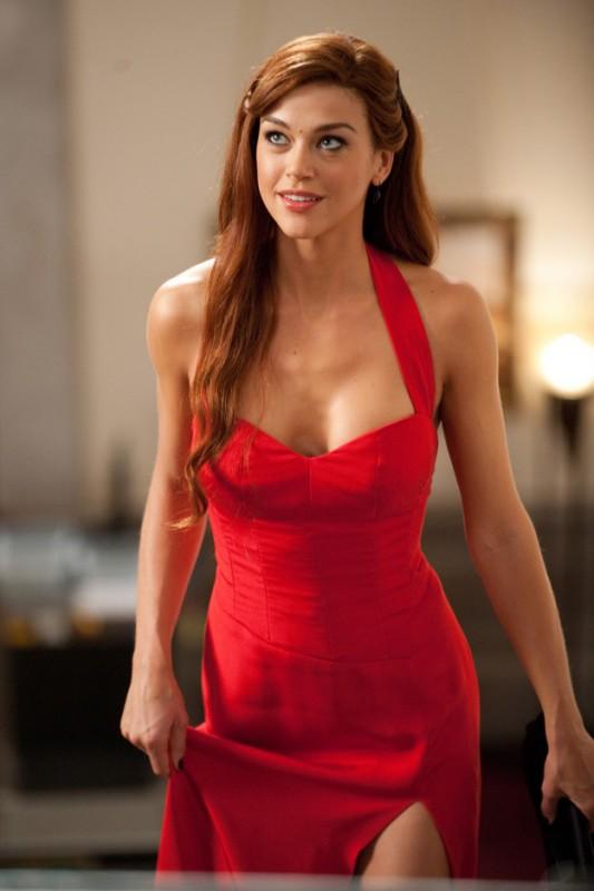 La rossa e sensuale Adrianne Palicki in una scena di G.I. Joe: La vendetta