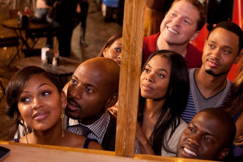 Meagan Good, Romany Malco, Regina Hall, Gary Owen, Terrence J e Kevin Hart in Think Like a Man