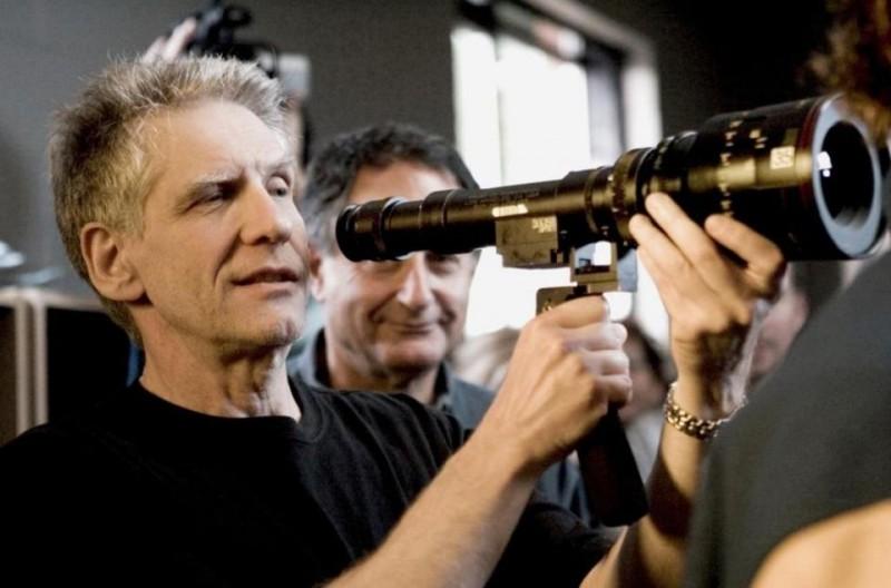 Cosmopolis: il regista David Cronenberg sul set del film