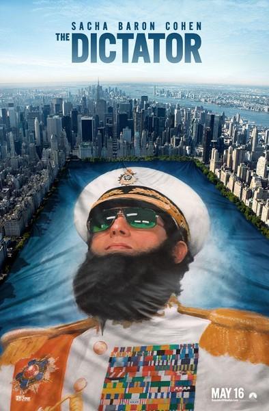 Il Dittatore: nuovo poster USA 2