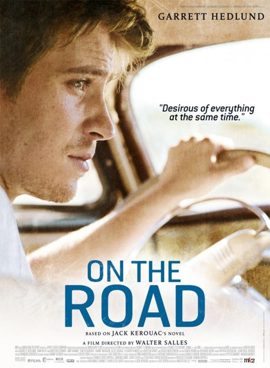 On the Road: character poster di Garrett Hedlund
