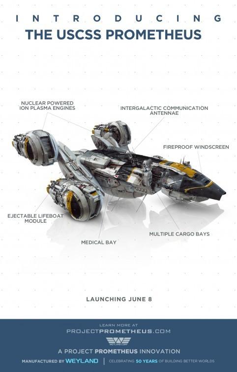 Prometheus: viral poster 4