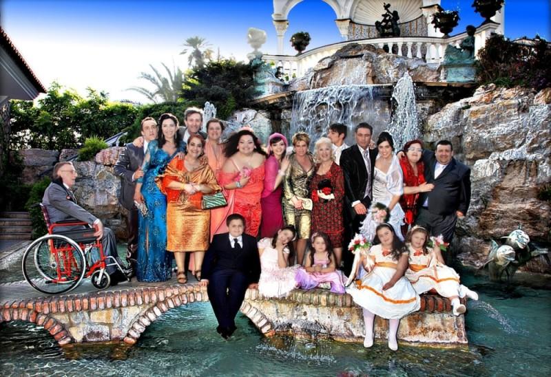 Reality: foto di gruppo promozionale del cast del film diretto da Matteo Garrone