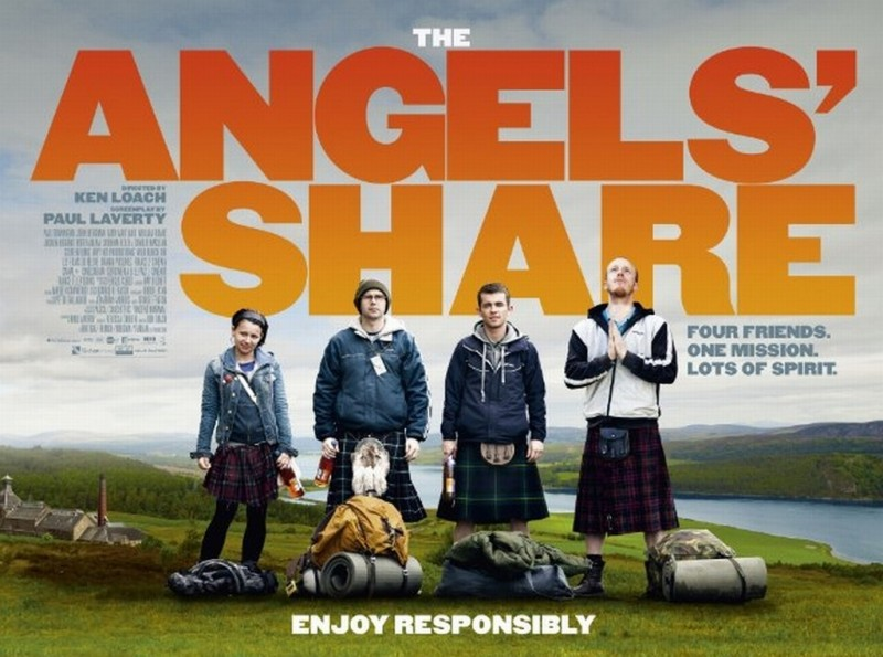The Angels' Share: il manifesto orizzontale del film