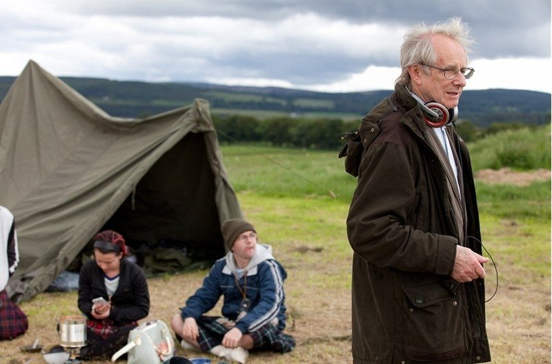 The Angels' Share: il regista Ken Loach sul set del film