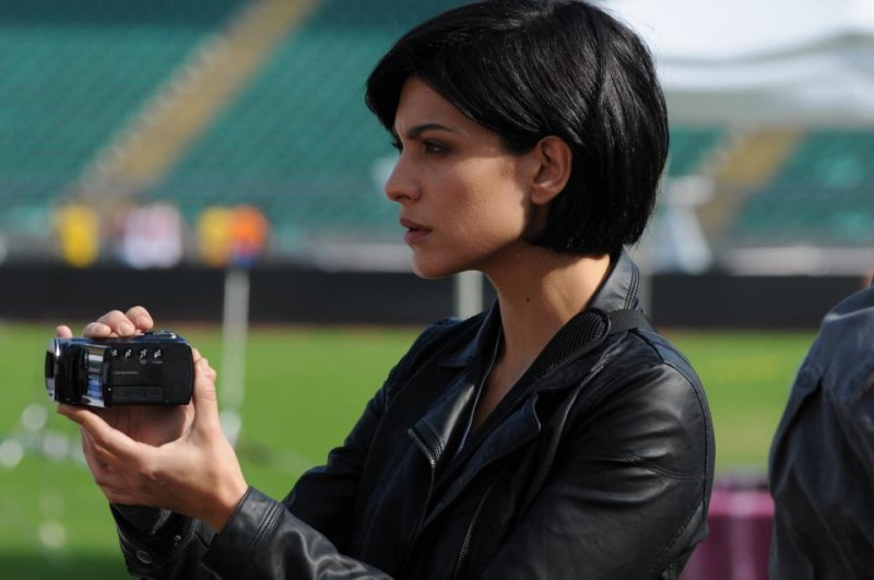 100 metri dal paradiso: Giulia Bevilacqua riprende la gara in una scena del film
