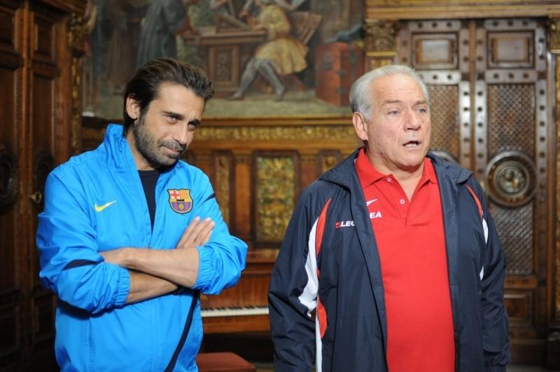 100 metri dal paradiso: Jordi Mollà insieme a Giorgio Colangeli in una scena tratta dal film