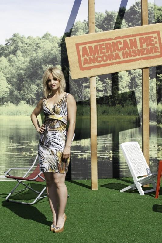 American Pie - Ancora insieme: Mena Suvari durante la tappa romana del tour promozionale del film
