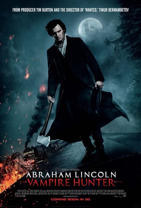 Character poster di Benjamin Walker in La leggenda del cacciatore di vampiri