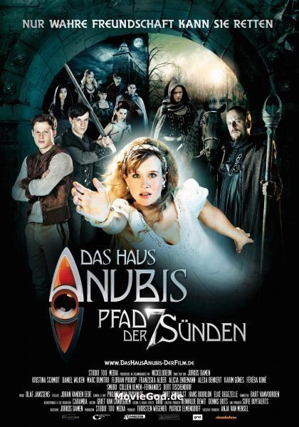 Das Haus Anubis - Pfad der 7 Sünden: la locandina del film