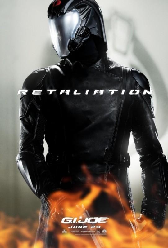 G.I. Joe: La vendetta, character poster per Cobra Commander