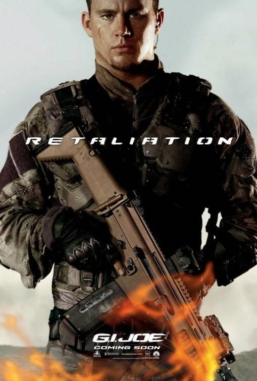 G.I. Joe: La vendetta, character poster per Duke Hauser (Channing Tatum)