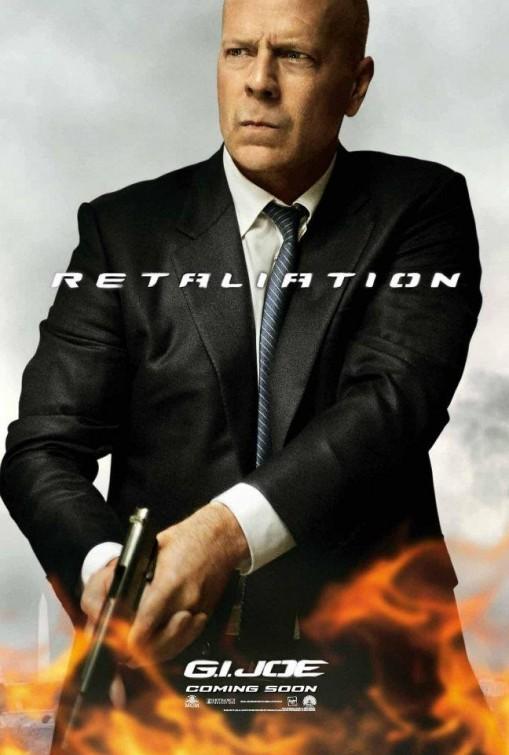 G.I. Joe: La vendetta, character poster per Joe Colton (Bruce Willis)